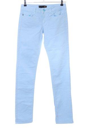 Just cavalli Five-Pocket-Hose blau Casual-Look