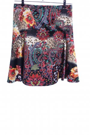 Just cavalli Falda Godets estampado con diseño abstracto look casual