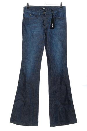 Just cavalli Jeansy biodrówki niebieski W stylu casual