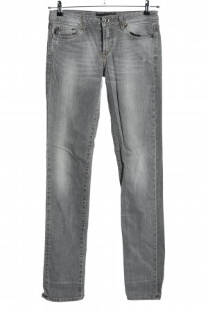 Just cavalli Low Rise Jeans light grey casual look
