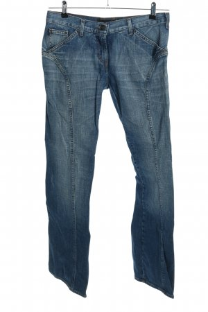 Just cavalli Jeansschlaghose blau Casual-Look