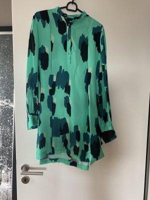 Just cavalli Sukienka tunika zielony-jasnozielony Wiskoza