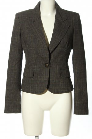 Just cavalli Kurz-Blazer Karomuster Business-Look