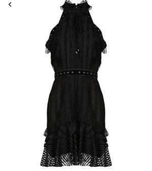 Just Cavalli kurze Kleid Gr. 38 schwarz