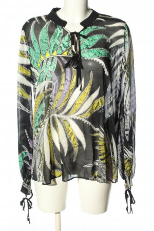 Just cavalli Langarm-Bluse Allover-Druck Casual-Look