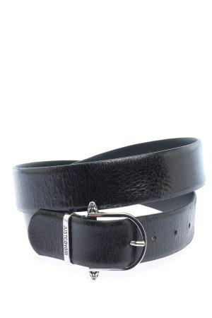 Just cavalli Cintura di pelle nero stile casual