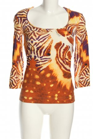 Just cavalli Longshirt Motivdruck Casual-Look