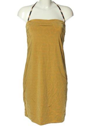 Just cavalli Robe courte jaune primevère style décontracté