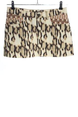 Just cavalli Spódnica mini Abstrakcyjny wzór W stylu casual