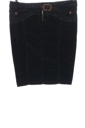 Just cavalli Minigonna nero motivo a righe stile casual