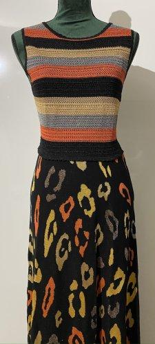 Just cavalli Robe longue multicolore viscose