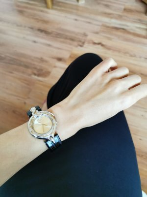Just Cavalli Recht Leather Damen Armbanduhr