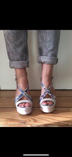 Just Cavalli Sandalen mit Keilabsatz