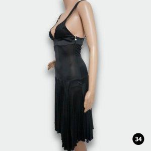 Just Cavalli / Schwarzes Abendkleid / Cocktailkleid / Größe: 34