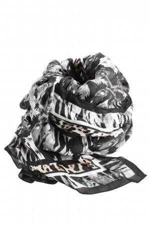 Just cavalli Silk Scarf leopard pattern casual look