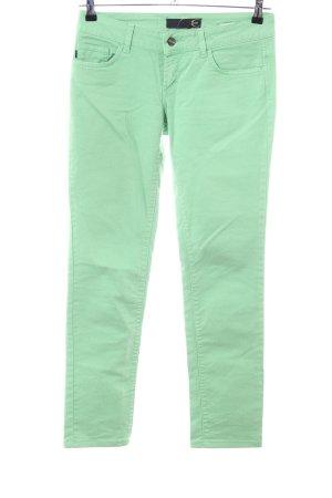 Just cavalli Jeans slim vert style décontracté