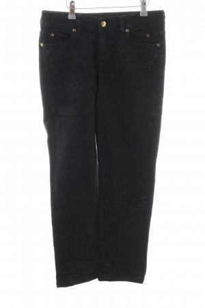 Just cavalli Slim Jeans schwarz Casual-Look