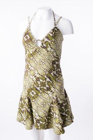 JUST CAVALLI - Sommerkleid mit Neckholder und Rückenausschnitt