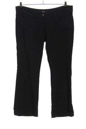 Just cavalli Spodnie materiałowe czarny W stylu casual