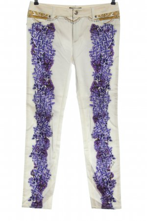 Just cavalli Jersey Pants abstract pattern party style