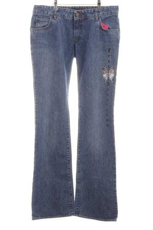 Just cavalli Straight-Leg Jeans blau Casual-Look
