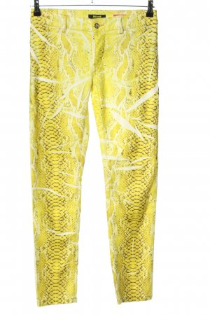 Just cavalli Stretchhose abstraktes Muster Casual-Look