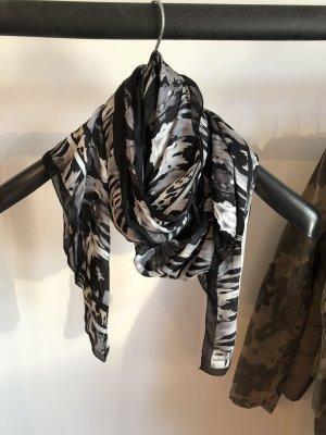 Just cavalli Zijden sjaal veelkleurig