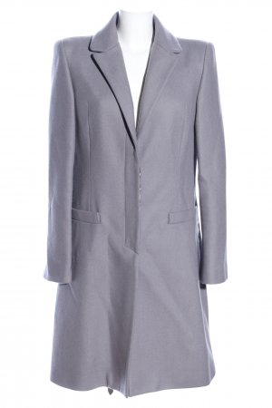 Just cavalli Wełniany płaszcz fiolet W stylu biznesowym
