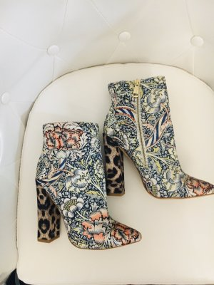 Just cavalli Bottes à talon multicolore
