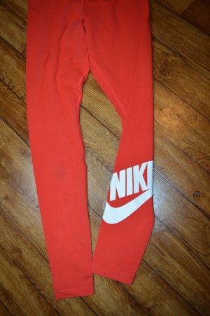JUST DOIT Rote hübsche Nike Leggins Gr. 38