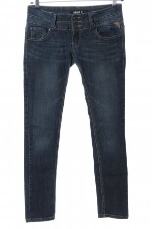 Just F... Low Rise jeans blauw casual uitstraling