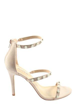 Just Fab High Heel Sandaletten wollweiß Elegant