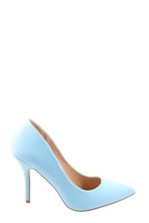 Just Fab High Heels blau Business-Look