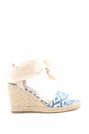 Just Fab Roman Sandals mixed pattern casual look
