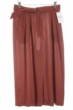 Just Fab Stoffhose rostrot Casual-Look