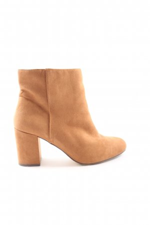 JUST FABULOUS Ankle Boots hellorange Casual-Look