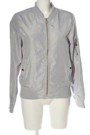 Just Fashion Giacca bomber grigio chiaro stile casual