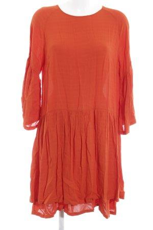 Just Female A-Linien Kleid neonorange Casual-Look