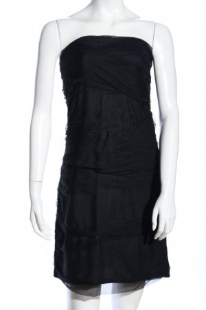 Just Female Bandeaukleid schwarz Casual-Look