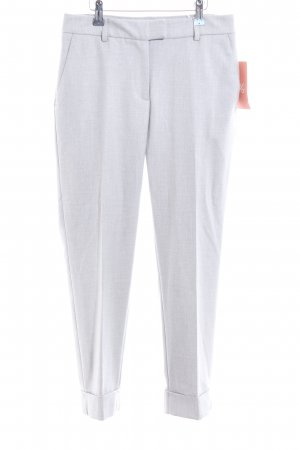 Just Female Bundfaltenhose hellgrau meliert Business-Look