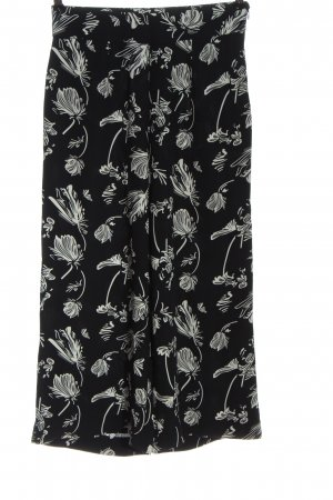 Just Female Culottes black-white allover print casual look