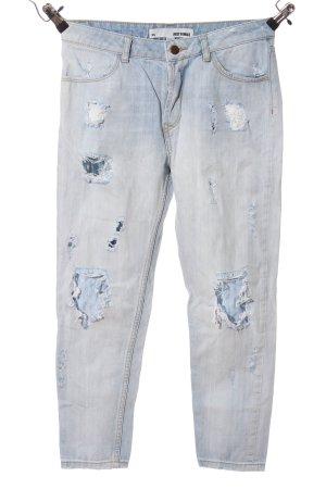 Just Female High Waist Jeans blau Casual-Look