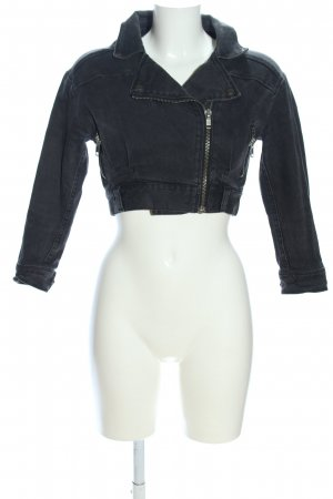 Just Female Jeansjacke schwarz Casual-Look