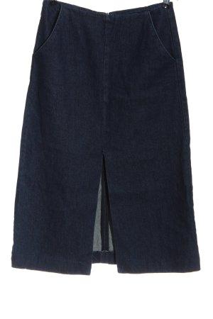 Just Female Gonna di jeans blu modello web stile casual