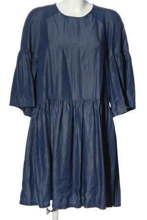 Just Female Kurzarmkleid blau Casual-Look