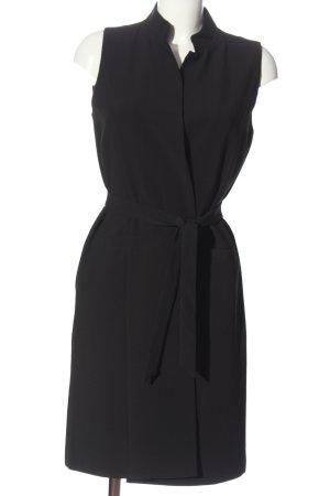 Just Female Gilet long tricoté noir style d'affaires