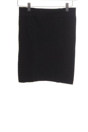 Just Female Minigonna nero stampa integrale stile casual