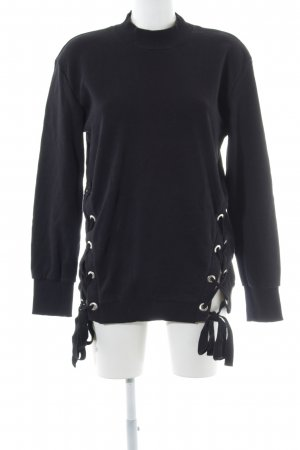 Just Female Rollkragenpullover schwarz Casual-Look