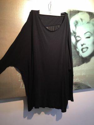 Just female Salman Bluse Pullover Überzieher oversize m schwarz