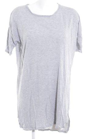 Just Female Shirtkleid hellgrau meliert Casual-Look